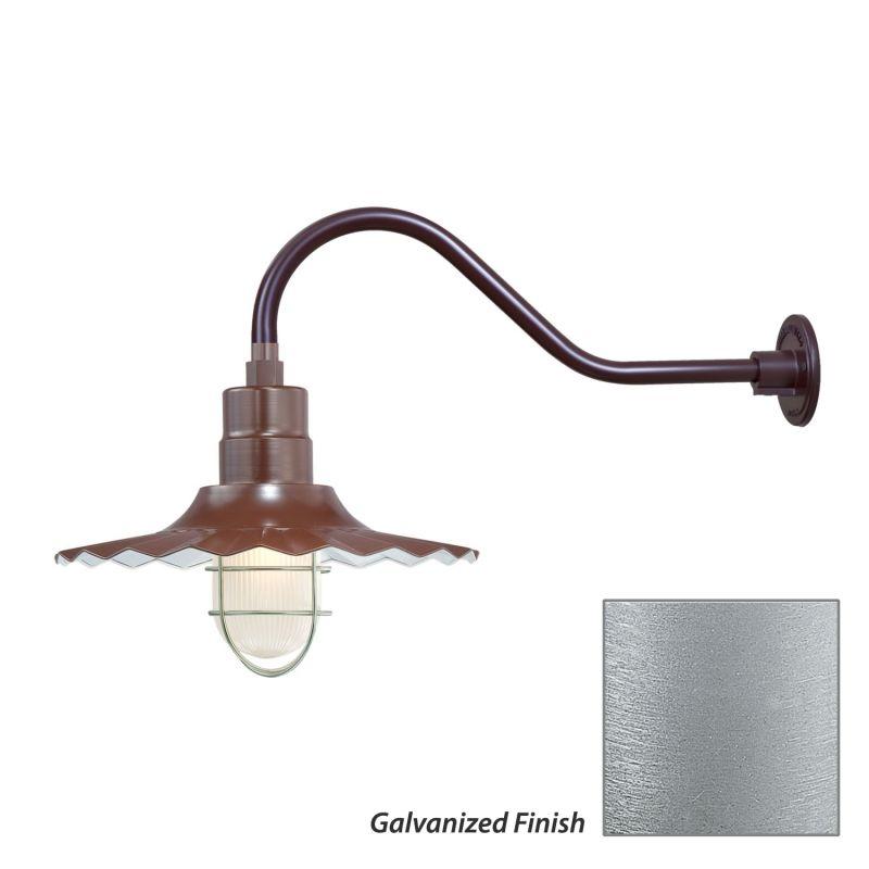 Millennium Lighting RRWS15-RGN22 R Series 1 Light Outdoor Wall Sconce