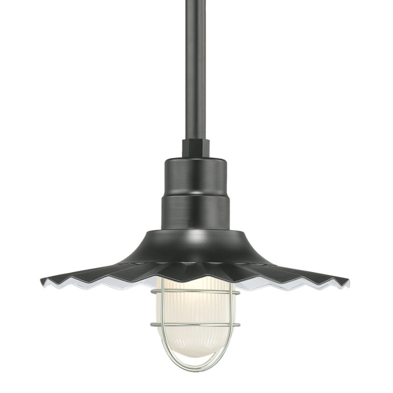 Millennium Lighting RRWS15-RSCK-RS1 R Series 1 Light Outdoor Pendant