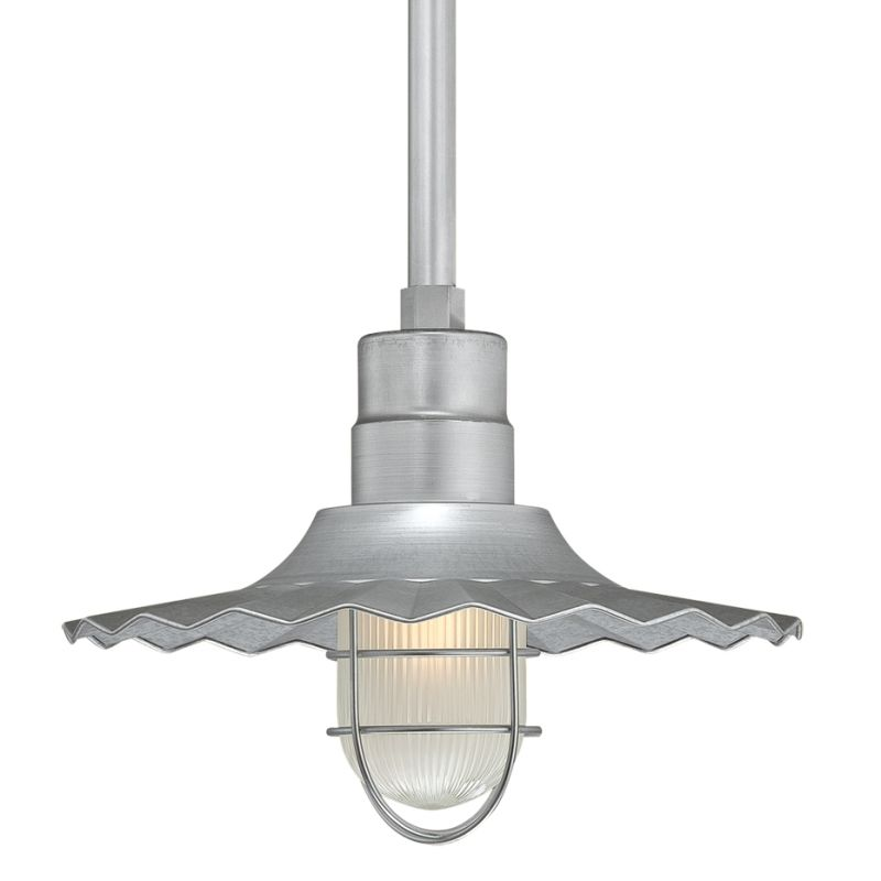 Millennium Lighting RRWS15-RSCK-RS2 R Series 1 Light Outdoor Pendant Sale $131.78 ITEM: bci2256798 ID#:RRWS15-RSCK-RS2 Galvanized UPC: 842639008091 :