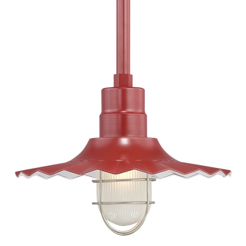 Millennium Lighting RRWS15-RSCK-RS2 R Series 1 Light Outdoor Pendant Sale $131.78 ITEM: bci2256801 ID#:RRWS15-RSCK-RS2 Satin Red UPC: 842639010292 :