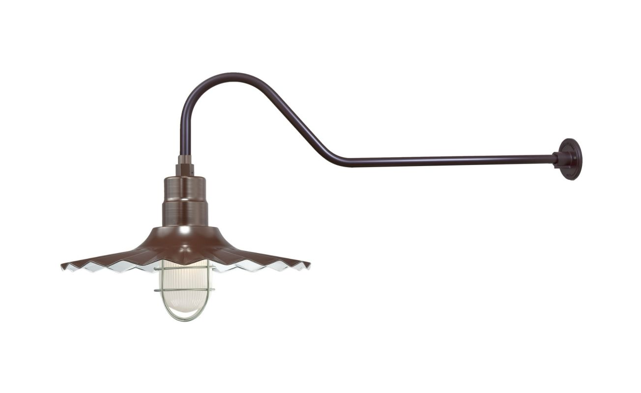Millennium Lighting RRWS18-RGN41 R Series 1 Light Outdoor Wall Sconce Sale $165.80 ITEM: bci2282492 ID#:RRWS18-RGN41 Architectural Bronze UPC: 842639011114 :