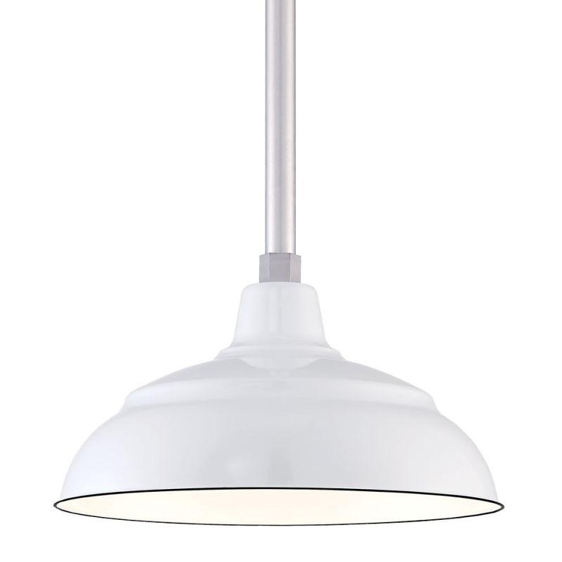 "Millennium Lighting RWHS14P R Series 14"" Wide Porcelain Outdoor"