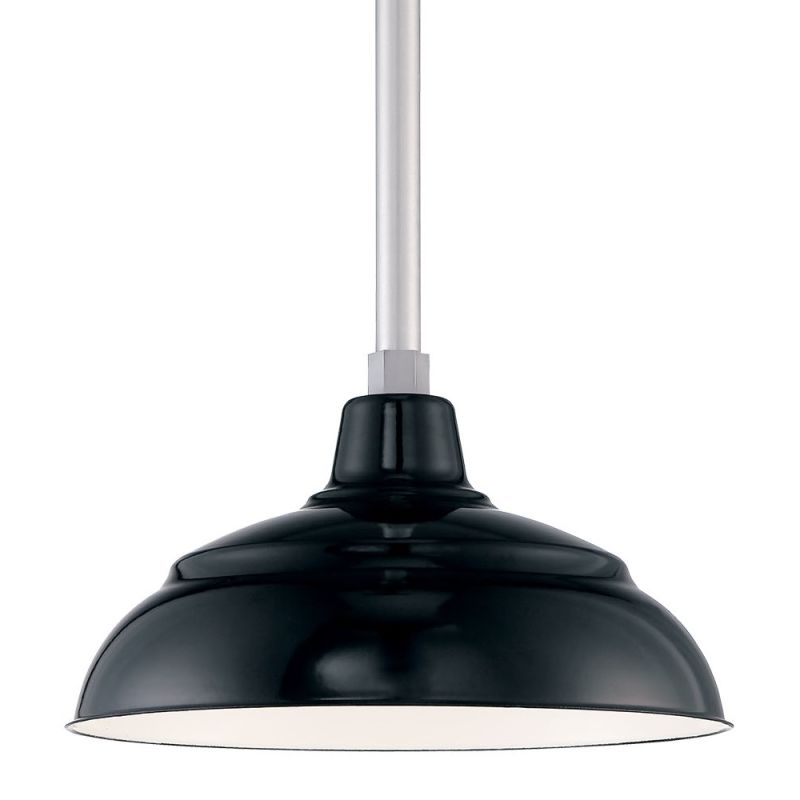 Millennium Lighting RWHS14P-RSCK-RS2 R Series 1 Light Outdoor Pendant