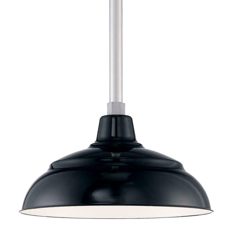 Millennium Lighting RWHS14P-RSCK-RS2 R Series 1 Light Outdoor Pendant Sale $148.38 ITEM: bci2670819 ID#:RWHS14P-RSCK-RS2 Black UPC: 842639014580 :