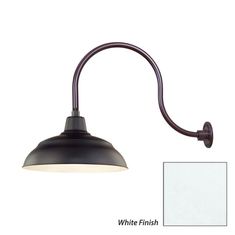 Millennium Lighting RWHS17-RGN24 R Series 1 Light Outdoor Wall Sconce