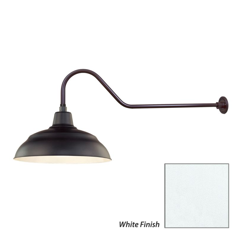 Millennium Lighting RWHS17-RGN41 R Series 1 Light Outdoor Wall Sconce