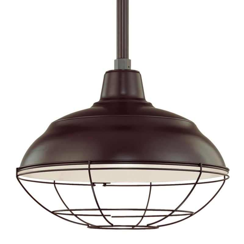 Millennium Lighting RWHS17-RSCK-RS2 R Series 1 Light Outdoor Pendant