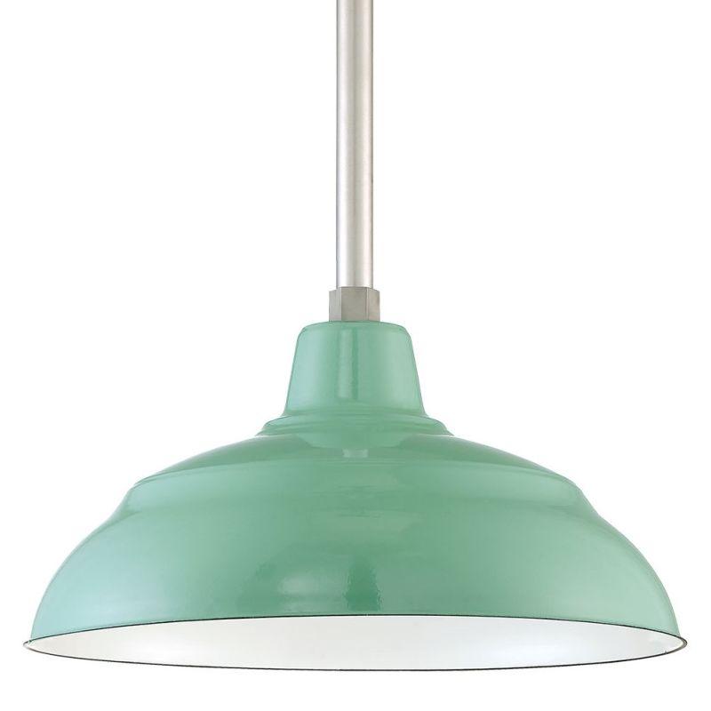 "Millennium Lighting RWHS17P R Series 17"" Wide Porcelain Outdoor"