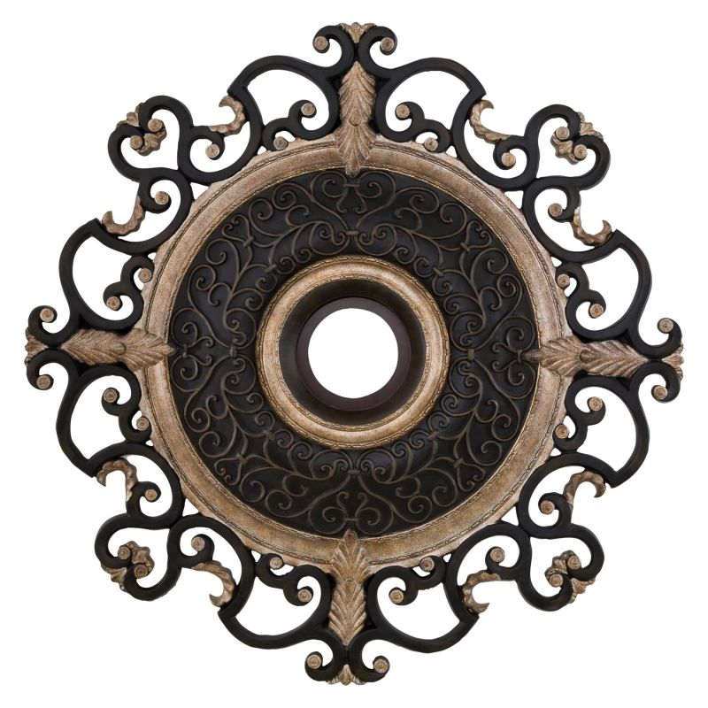 "MinkaAire CM7038 38"" Diamenter Ceiling Medallion from the Napoli"
