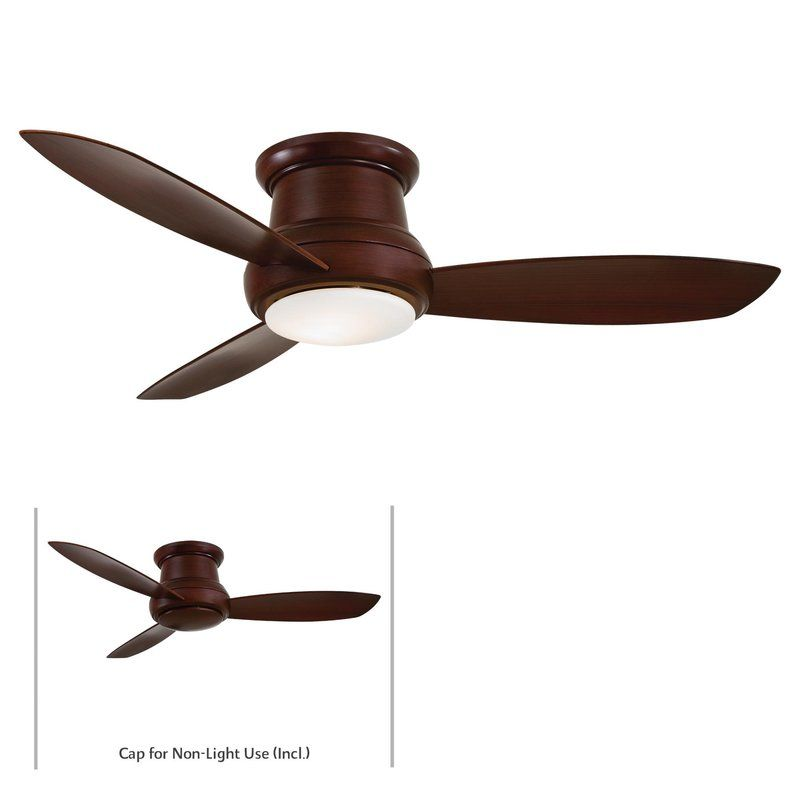 "MinkaAire Concept II 52 3 Blade 52"" Concept II Flushmount Ceiling Fan"