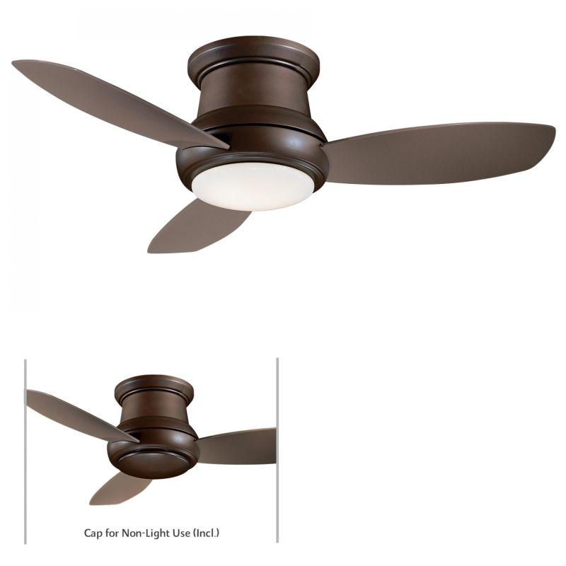 "MinkaAire Concept II 52 3 Blade 52"" Concept II Flushmount Ceiling Fan"