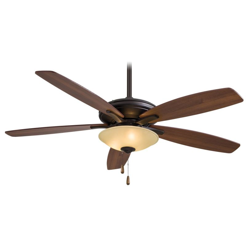 """MinkaAire Mojo 52"""" 5 Blade Indoor Ceiling Fan with Blades and Light"""
