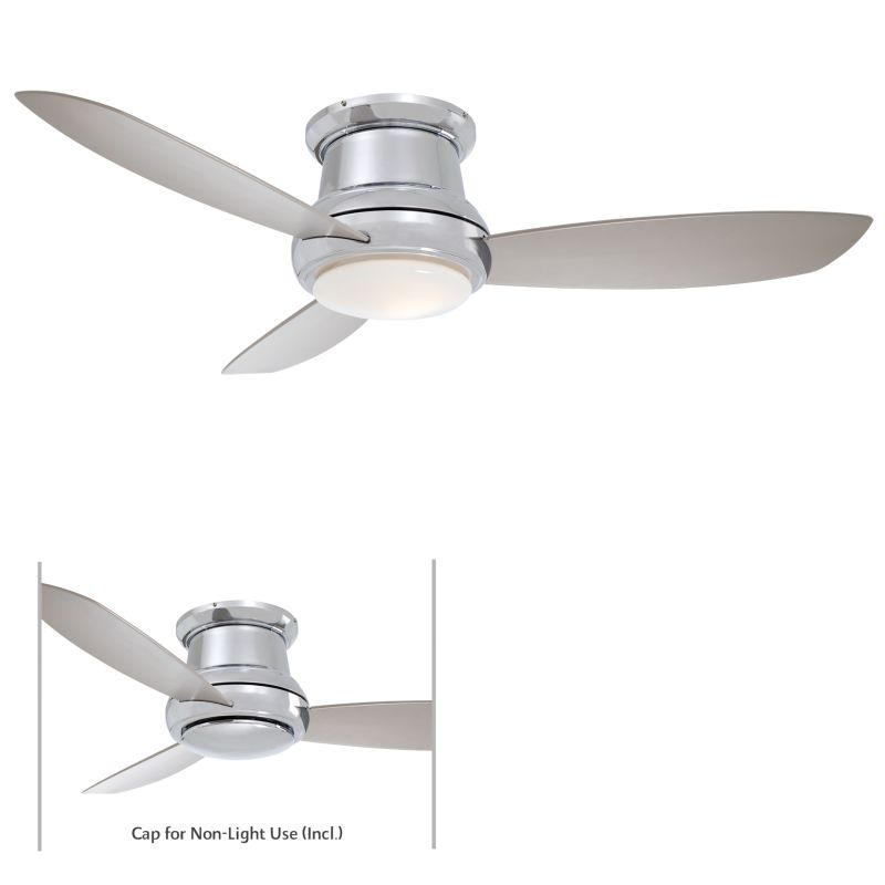 "MinkaAire Concept II 44 3 Blade 44"" Concept II Flushmount Ceiling Fan"
