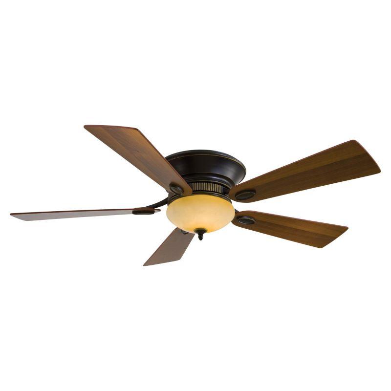 """MinkaAire Delano II 52"""" 5 Blade Delano II Hugger Ceiling Fan with"""