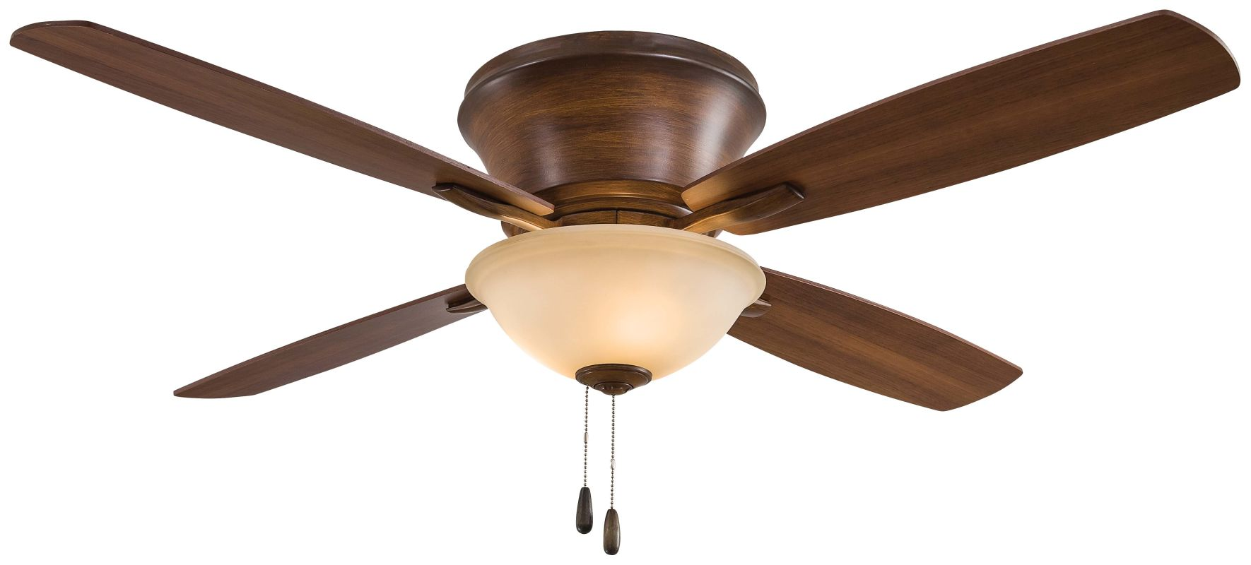 "MinkaAire Mojo II 52"" 4 Blade Indoor Flush Mount Ceiling Fan with"