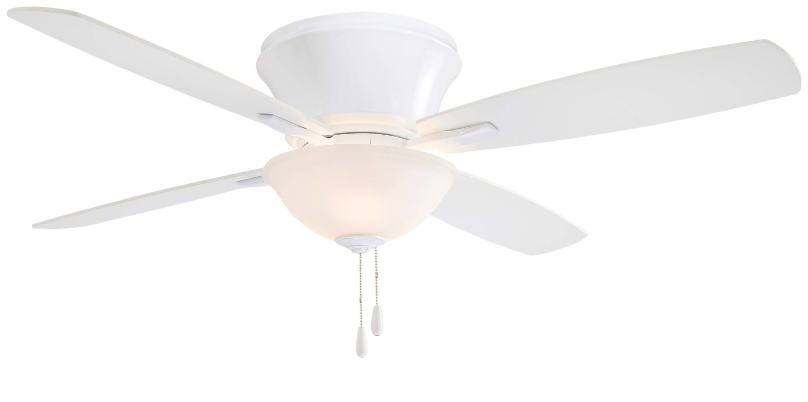 """MinkaAire Mojo II 52"""" 4 Blade Indoor Flush Mount Ceiling Fan with"""
