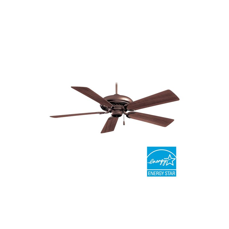 """MinkaAire Supra 52 Supra 52"""" 5 Blade Ceiling Fan - Blades Included Oil"""