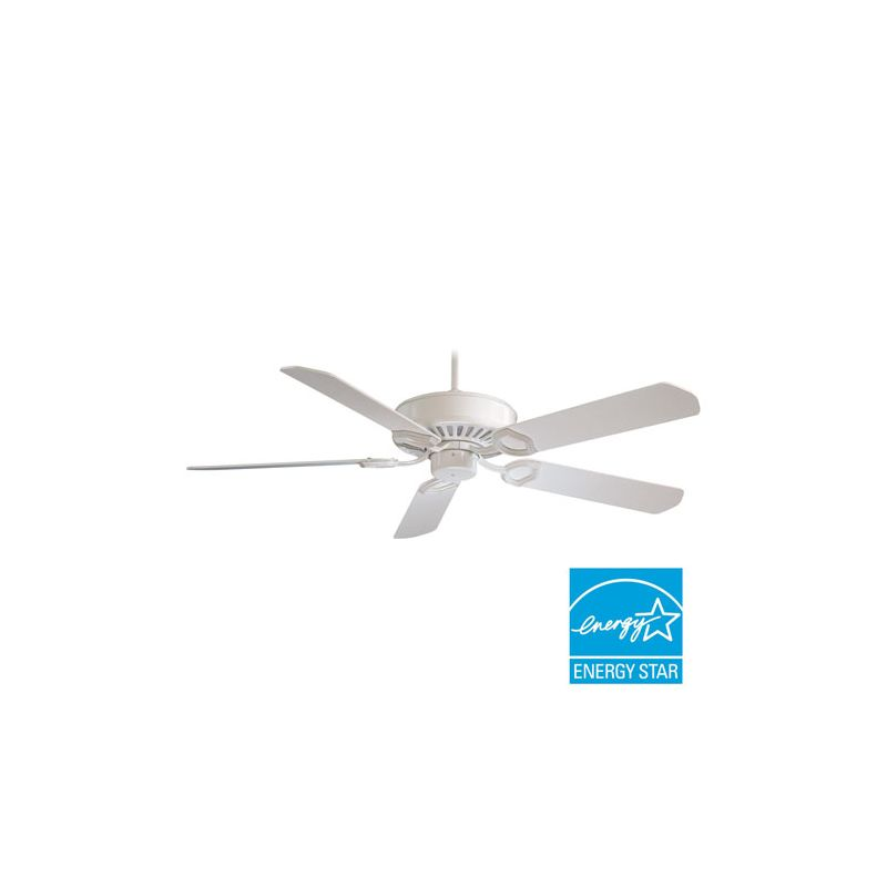 "MinkaAire Ultra-Max 5 Blade 54"" Ceiling Fan - Wall Control Handheld"