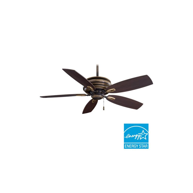 "MinkaAire Timeless 5 Blade 54"" Timeless Energy Star Ceiling Fan with"