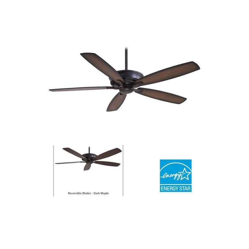 "MinkaAire Kafe-XL 5 Blade 60"" Kafe-XL Energy Star Indoor Ceiling Fan - Sale $339.95 ITEM: bci1952434 ID#:F696-KA UPC: 706411042775 :"
