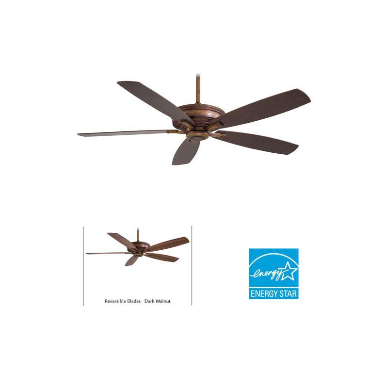 "MinkaAire Kafe-XL 5 Blade 60"" Kafe-XL Energy Star Indoor Ceiling Fan - Sale $339.95 ITEM: bci1952435 ID#:F696-VP UPC: 706411042751 :"