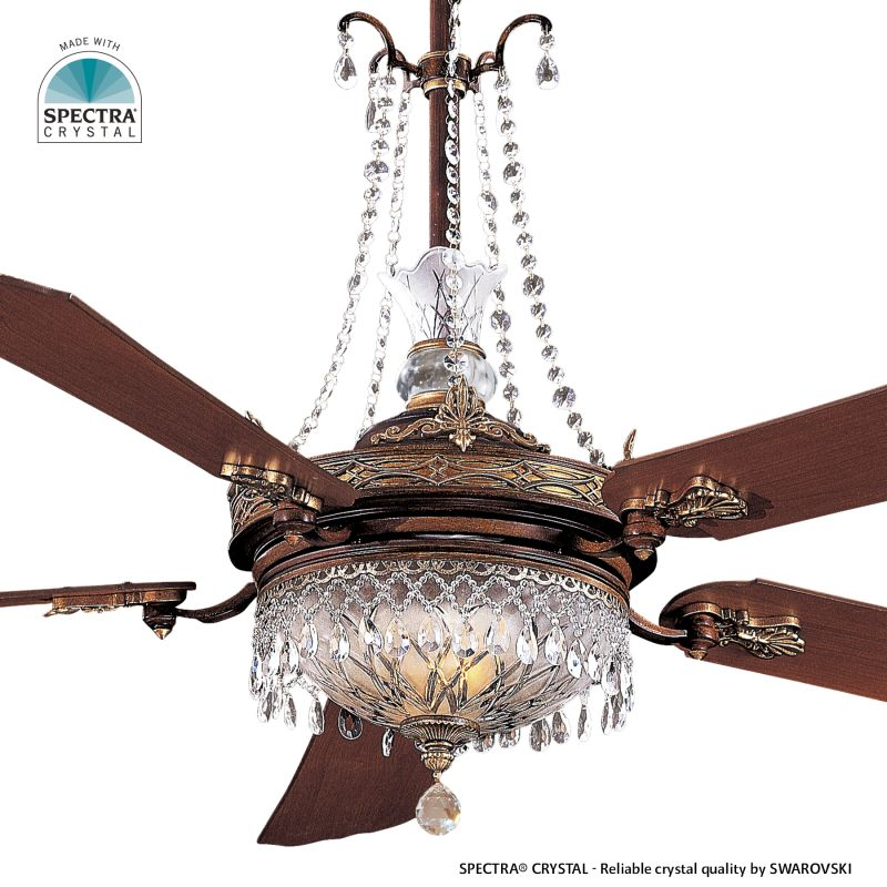 Minka Aire Swarovski Crystal Replacement Ceiling Fan Glass GC900 SET