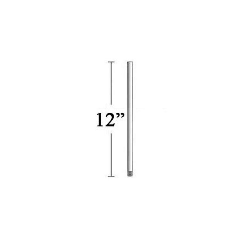 "MinkaAire MA DR512 12"" Minka Aire Ceiling Fan Down Rod Rustic Copper"