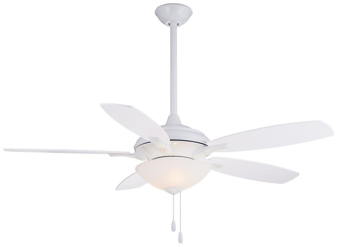 "MinkaAire Hilo 52"" 5 Blade Indoor Ceiling Fan with Blades and Light"