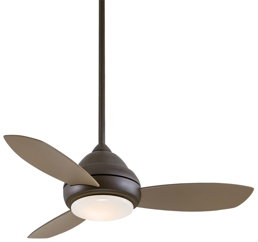 "MinkaAire Concept I 44 3 Blade 44"" Concept I Ceiling Fan - Integrated"