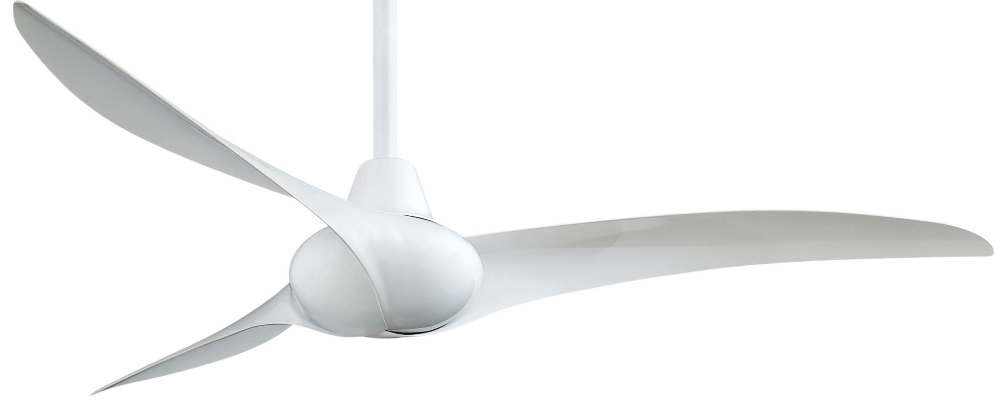 """MinkaAire Wave 52"""" 3 Blade Indoor Ceiling Fan with Blades and Remote"""