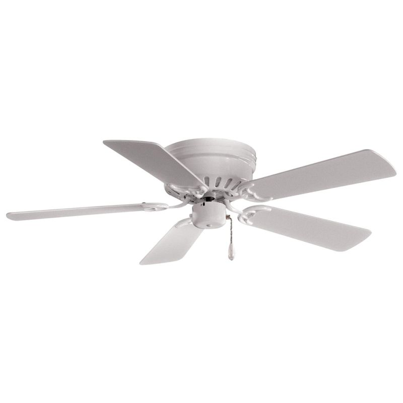"""MinkaAire Mesa 42 5 Blade 42"""" Ceiling Fan - Blades Included White Fans Sale $75.65 ITEM: bci343628 ID#:F566-WH UPC: 706411003882 :"""