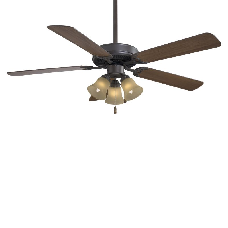 """MinkaAire F647 5 Blade 52"""" Contractor Ceiling Fan with Blades and 3"""