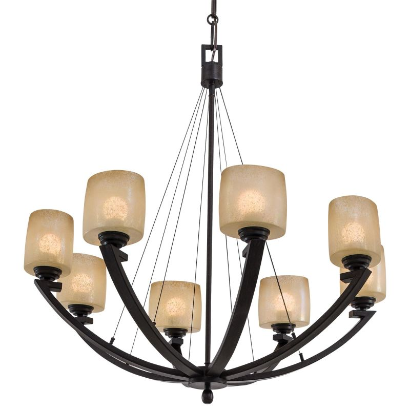 Minka Lavery ML 1188 8 Light 1 Tier Suspension Chandelier from the