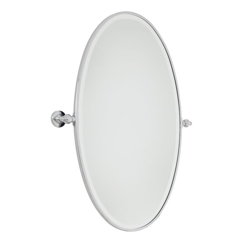 Minka Lavery 1432 Extra Large Oval Pivoting Bathroom Mirror Chrome