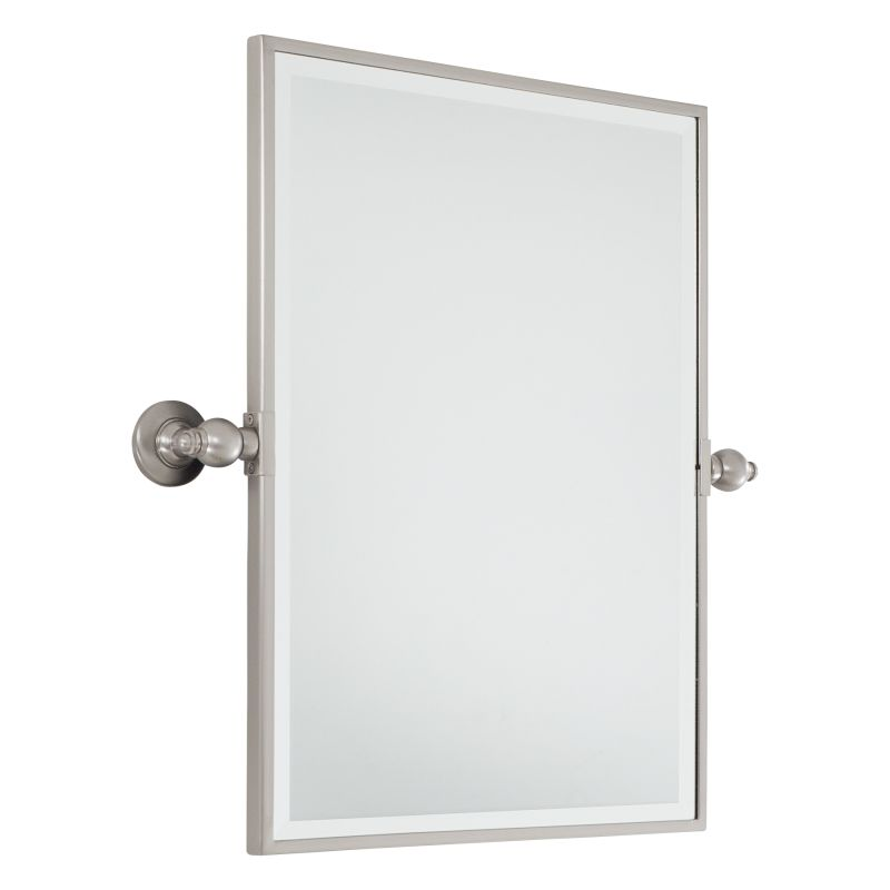 Minka Lavery 1440 Standard Rectangle Pivoting Bathroom Mirror Brushed Sale $305.90 ITEM: bci1335478 ID#:1440-84 UPC: 747396073828 :