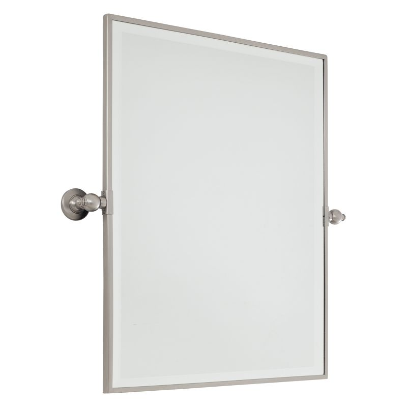 Minka Lavery 1441 Extra Large Rectangle Mirror Brushed Nickel Home