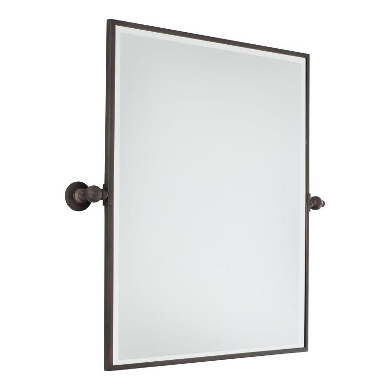 Minka Lavery 1441 Extra Large Rectangle Mirror Dark Brushed Bronze