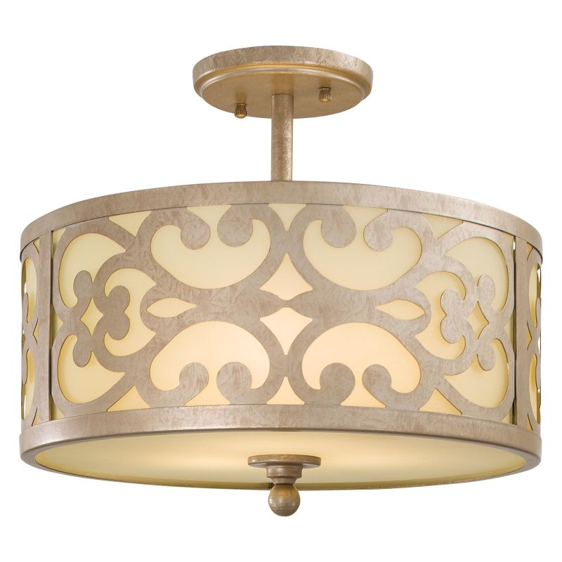 Minka Lavery 1498 3 Light Semi-Flush Ceiling Fixture from the Nanti