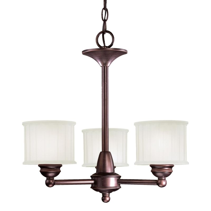 Minka Lavery ML 1733 3 Light 1 Tier Mini Chandelier from the 1730 Sale $179.90 ITEM: bci347040 ID#:1733-167 UPC: 747396052519 :