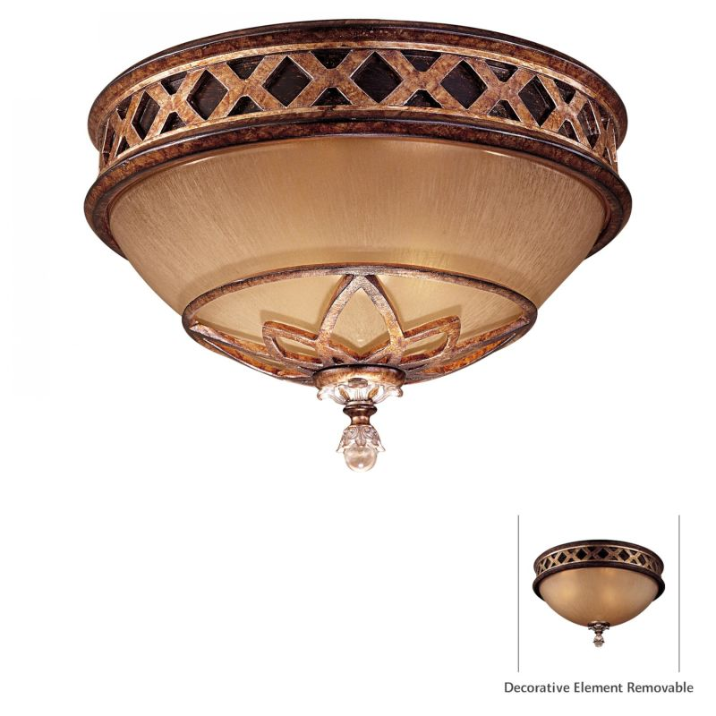Minka Lavery 1755-206 Aston Court Bronze 2 Light Flush