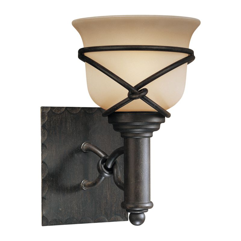 Minka Lavery ML 5971-1 1 Light Bathroom Sconce from the Aspen II Sale $77.90 ITEM: bci347592 ID#:5971-1-138 UPC: 747396055633 :