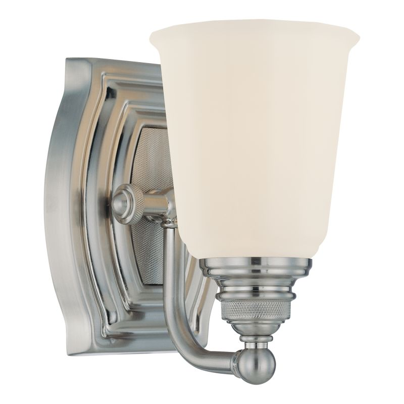 Minka Lavery 6451 1 Light Bathroom Sconce from the Clairemont