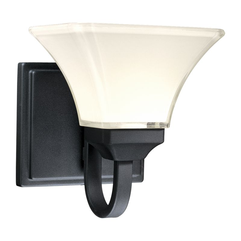 Minka Lavery ML 6811 1 Light Bathroom Sconce from the Agilis Sale $65.90 ITEM: bci347806 ID#:6811-66 UPC: 747396057309 :