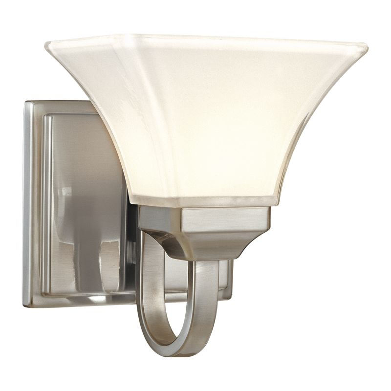 Minka Lavery ML 6811 1 Light Bathroom Sconce from the Agilis Sale $65.90 ITEM: bci347807 ID#:6811-84 UPC: 747396057293 :