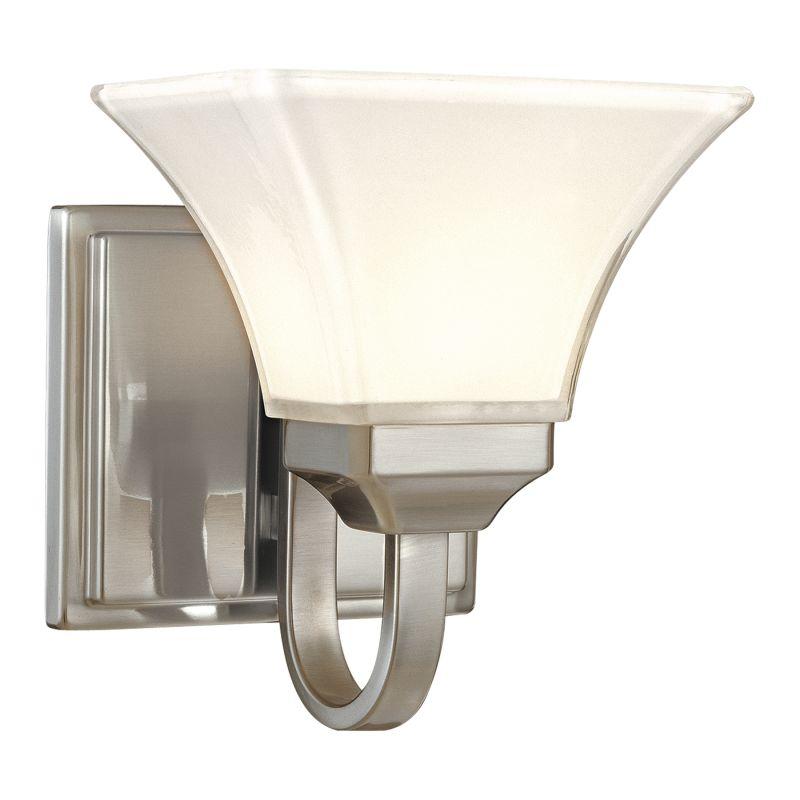Minka Lavery ML 6811 1 Light Bathroom Sconce from the Agilis Sale $65.90 ITEM: bci347807 ID#:6811-84 UPC: 747396057293 :