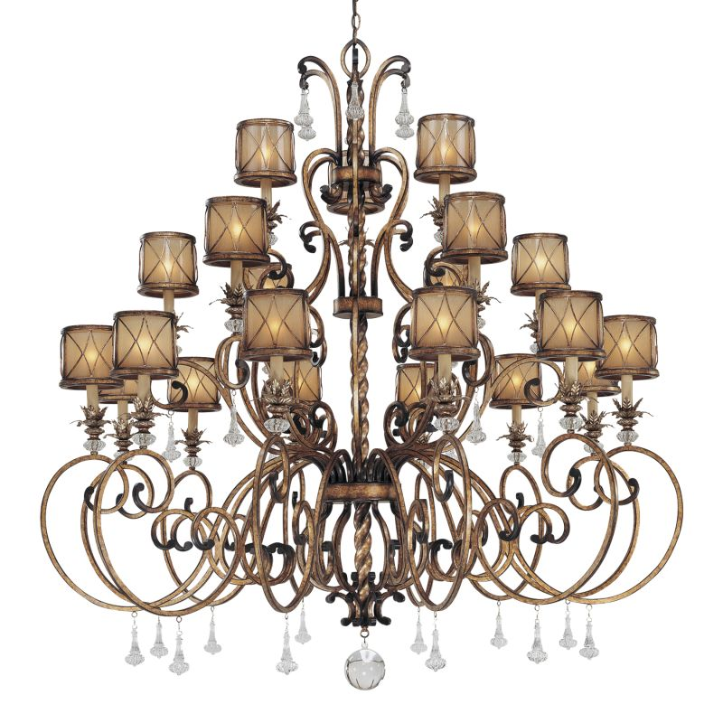 Minka Lavery 4759 21 Light 3 Tier Crystal Chandelier from the Aston