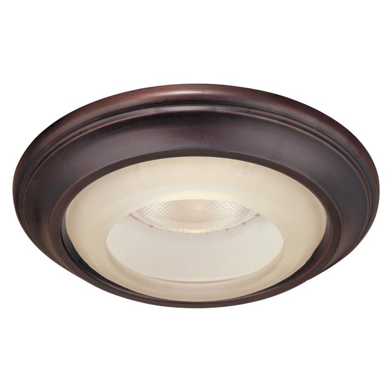 """Minka Lavery 2718 6"""" Decorative Recessed Trim with Etched Marble Glass"""