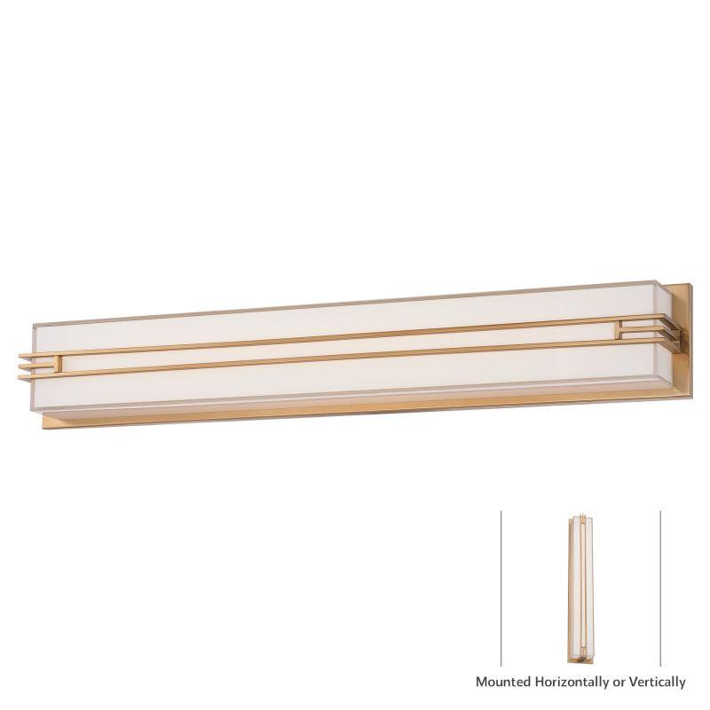 "Minka Lavery 2944-248-L 1 Light 31.5"" Width LED ADA Bath Bar from the"