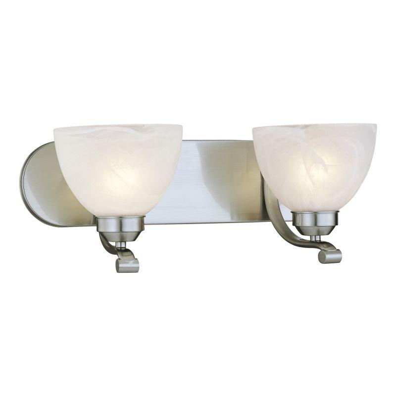 Minka Lavery ML 5422-PL 2 Light Energy Star Bathroom Vanity Light with