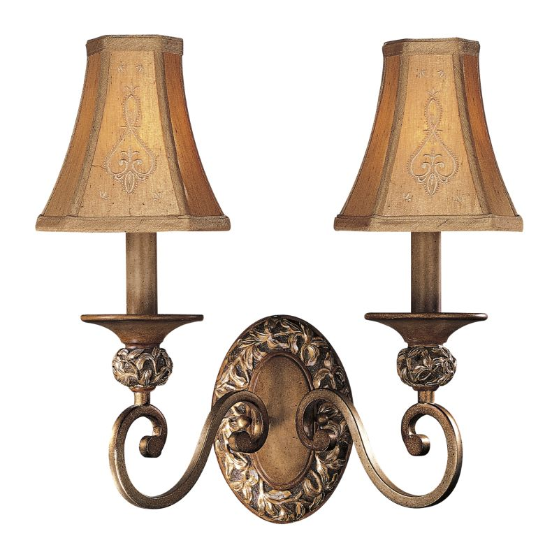 Minka Lavery ML 1562 2 Light Candle-Style Wall Sconce from the Salon